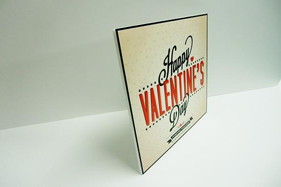 バレンタインパネル2